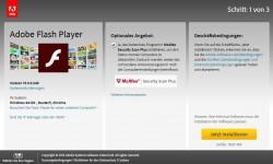 Privatanwender von Adobes Flash Player können die Software künftig nur noch über https://get.adobe.com/de/flashplayer/ beziehen. Den bisherigen Download, auf dem Anwender Dateien für die Weiterverbreitung herunter laden konnten, kündigt Adobe zum 22. Januar 2016 auf. (Screenshot: silicon.de)