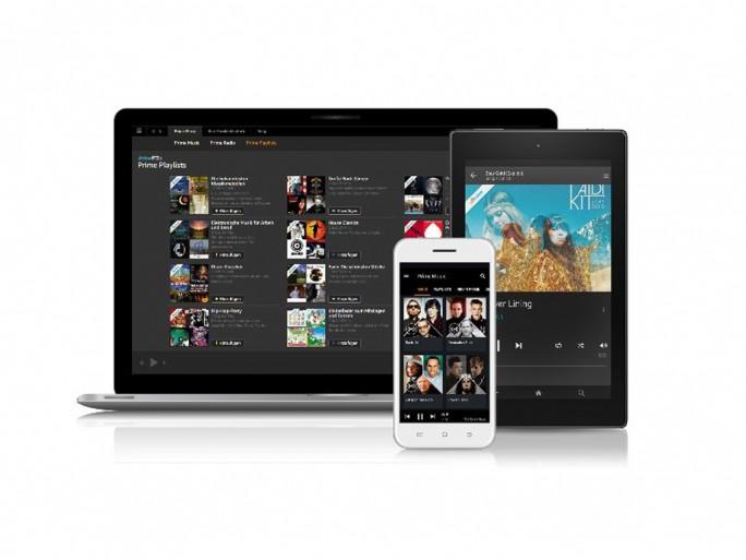 Amazon Prime Music ist auf PC und Mac, Android und iOS sowie FireOS-Geräten nutzbar (Bild: Amazon).