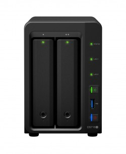f-DS716+_front (Bild: Synology)