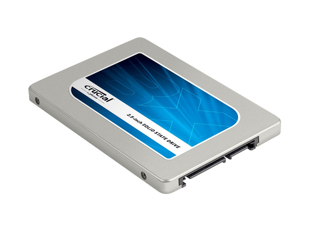 SSD-Reihe Crucial BX200 bietet zwischen 240 und 960 GByte ab 92 Euro