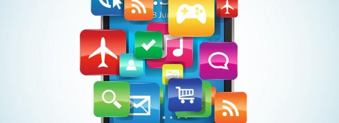 Zu viel Apps auf einem Smartphone (Bild: Shutterstock/Kmannn)