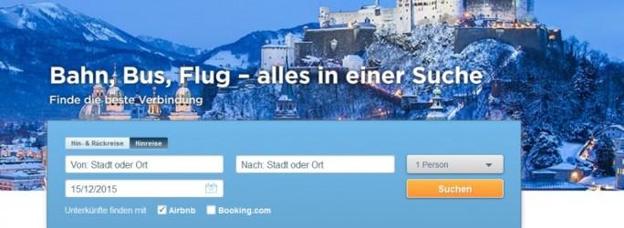 GoEuro Website (Screenshot: ITespresso)