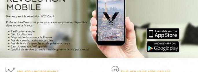 VTC Cab Homepage (Screenshot: ITespresso)