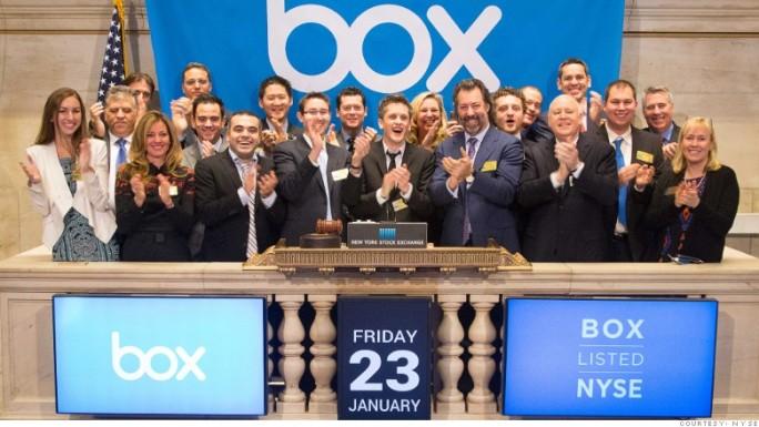 Box war der erste Tech-IPO dieses Jahres in den USA (Bild: NYSE).