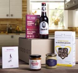 Foodist, das seinen Kunden monatlich ein Paket mit Delikatessen zuschickt, ist einer der neuen Anbieter, die das Abo-Modell wiederbelebt und neu überdacht haben (Bild: Foodist).