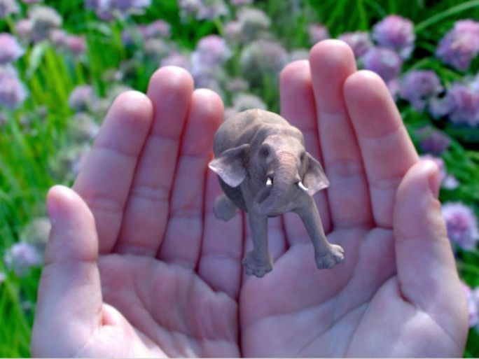 Magic Leap Elefant (Screenshot: ITespresso)