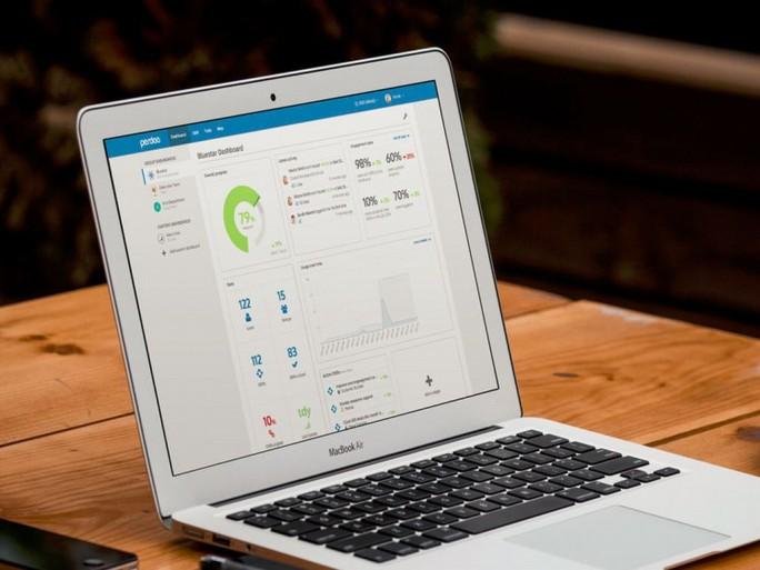 Perdoo OKR-Software auf Notebook (Grafik: Perdoo)