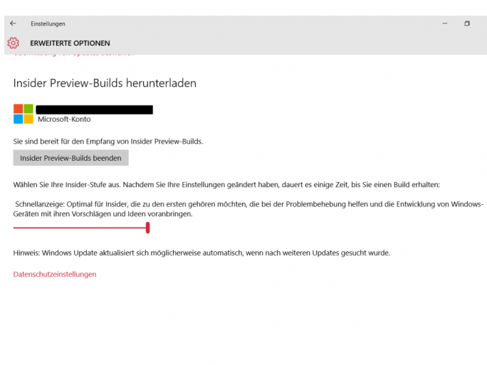 windows10-build11082 (Screenshot: ZDNet.de)