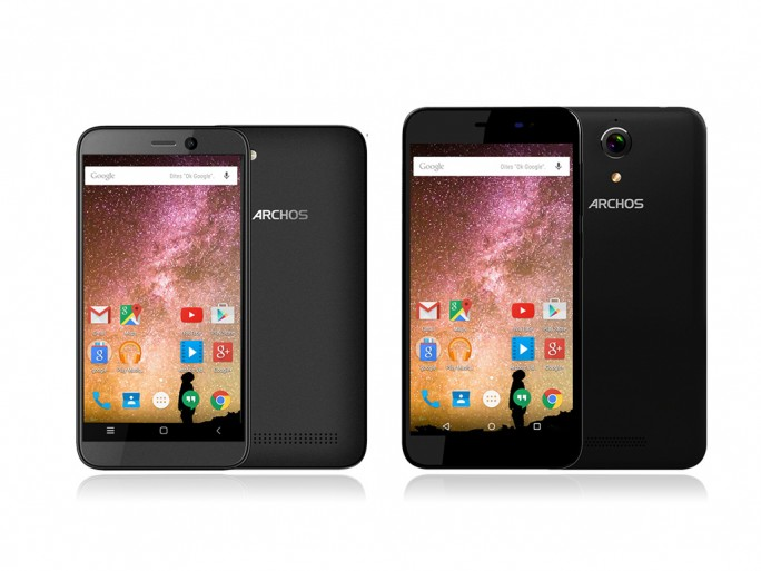 Archos 40 Power und Archos 50 Power (Bild: Archos)