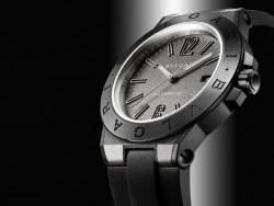 Die im vergangenen Jahr vorgestellte Bulgari Diagono-Magnesium ist die erste, druch WiseKey gesichert Uhr (Bild: Bulgari).