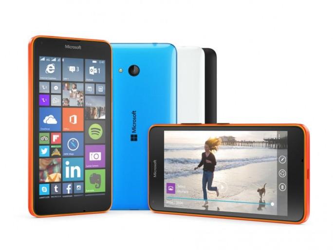 Lumia-Smartphones Windows 10 (Bild: Microsoft)