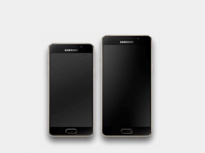 Samsung Galaxy A3 und Samsung-Galaxy A5 (Screenshot: ITespresso)