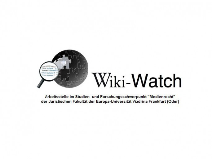 Wiki-Watch (Grafik: Europa-Universität Viadrina)