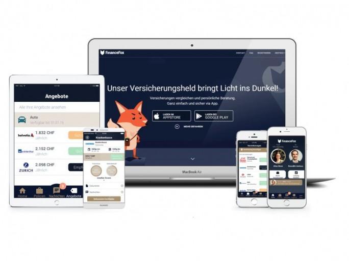 FinanceFox lässt sich mit den für Android und iOS verfügbaren Apps nutzen (Bild: FinanceFox)