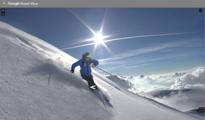 Street View Mont Blanc (Screenshot: ITespresso)