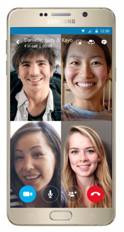 skype-android-gruppenvideoanrufe (Bild: Microsoft)