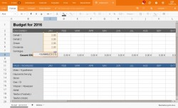 Tabellenkalkulation bei Mailbox.org (Bild: Mailbox.org)
