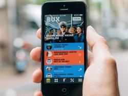 BUX-App auf Smartphone (Bild: BUX)