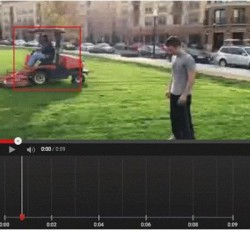 Custom Blurring Tool (Screenshot: ITespresso bei Youtube)