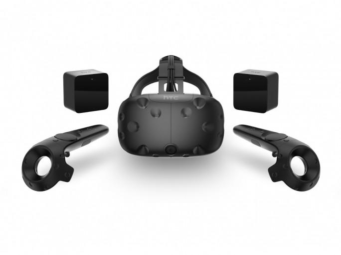 Die Virtual-Reality-Brille HTC Vive ist ab 29. Februar für 799 Dollar bestellbar (Bild: HTC).