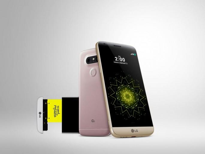 """LG hat auf dem Mobile World Congress (MWC) in Barcelona das LG G5 und eine ganze, als """"LG Freinds"""" bezeichnete Familie an hochwertigem und ausgefallenem Zubehör vorgestellt (Bild: LG Electronics)."""