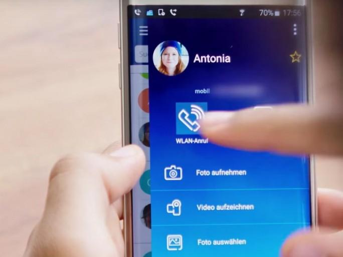 O2 Message+Call-App (Screesnhot: ITespresso bei Youtube)