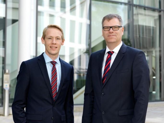 Philipp Stute (links), und Dirk Waltje bleiben auch unter dem neuen Mehrheitsgesellschafter ACP Vorstände bei Janz IT (Bild: Janz IT).