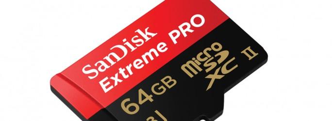 Sandisk Extreme Pro microSDXC UHS-II (Bild: SanDisk)