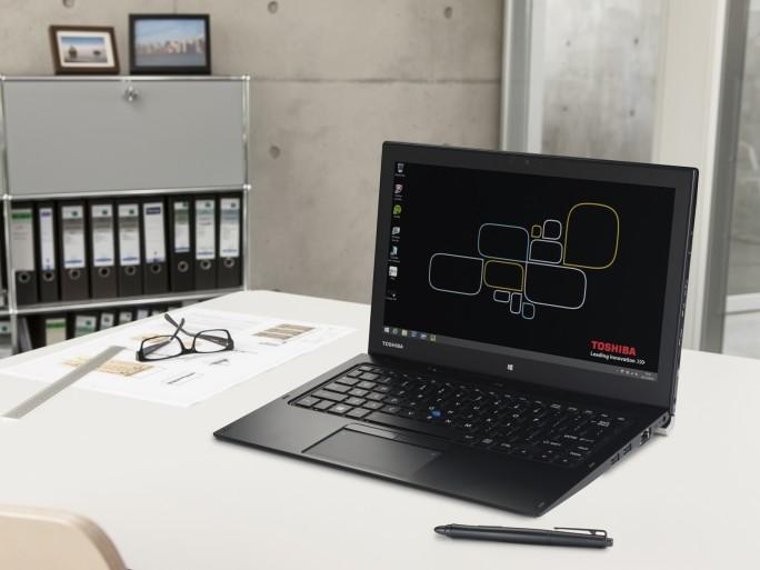 Business-Notebooks haben den Namen Toshiba in Deutschland bekannt gemacht. Das Bild zeigt das Portege Z20t-B (Foto: Toshiba)