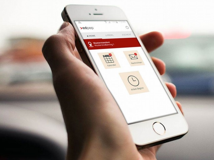 edpep auf Smartphone (Bild: Eurodata)