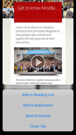 firefox-for-ios-peek (Bild: Mozilla)