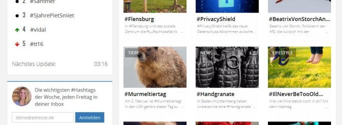 HashtagNow Website (Screenshot: ITespresso)