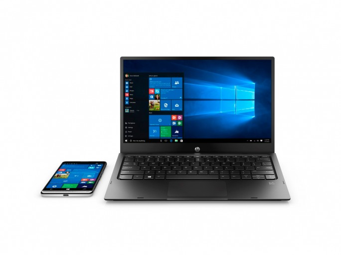 HP Elite X3 mit Mobile Extender (Bild: HP)