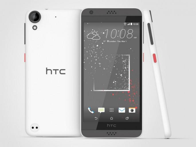 Das Desire 530 soll ab April für 219 Euro erhältlich sein (Bild: HTC