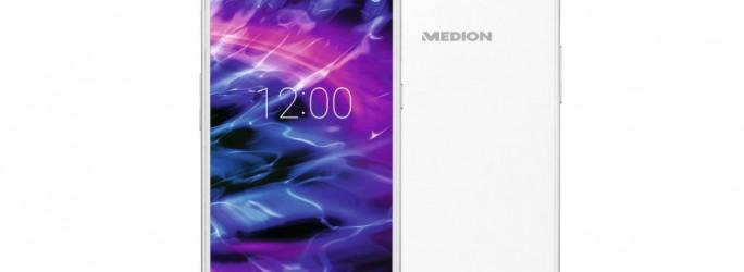 Das 5-Zoll-Smartphone Medion S5004 kommt für 199 Euro in den Handel (Bild: Medion).