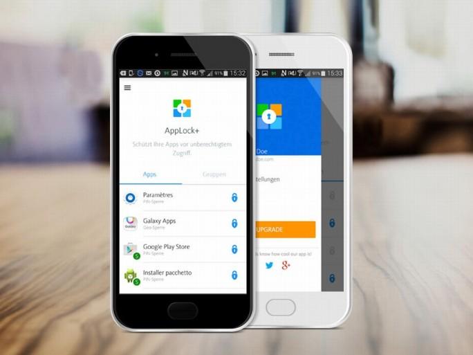 AppLock+ von Avira bietet Kinder- und Selbstschutzfunktionen. Die Basisversion ist kostenlos, die wirklich praktischen Funktionen müssen allerdings über In-App-Käufe freigeschaltet werden (Bild: Avira).