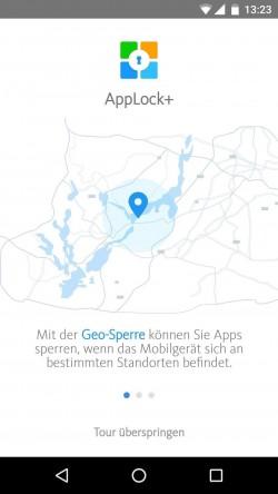 Eine der zukaufbaren Funktionen ist die ostbasierende Sperre von Apps (Screenshot: Avira)