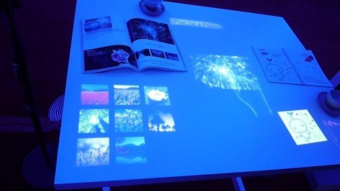 Brother zeigte bereits 2012 einmal ein dem nun von Sony vorgestelltem sehr ähnliches Konzept (Bild:  ITespresso/Peter Marwan.