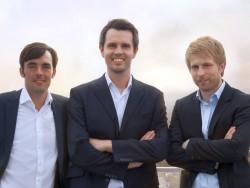 Die Giromatch-Gründer (vin links): Daniel Conradt, Robin Buschmann und Viktor Kraus (Bild: Giromatch).