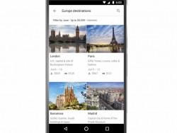 Reiseziele auf Google (Screenshot: ITespresso bei Youtube)
