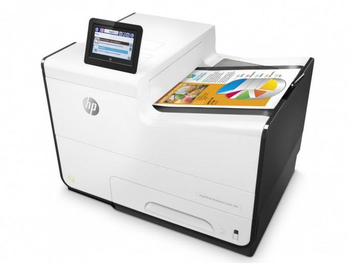 Der HP PageWide Enterprise Color 556 ist laut Hersteller für Arbeitsgruppen mit bis zu 15 Nutzern in kleinen und mittleren Unternehmen konzipiert (Bild: HP Inc.).