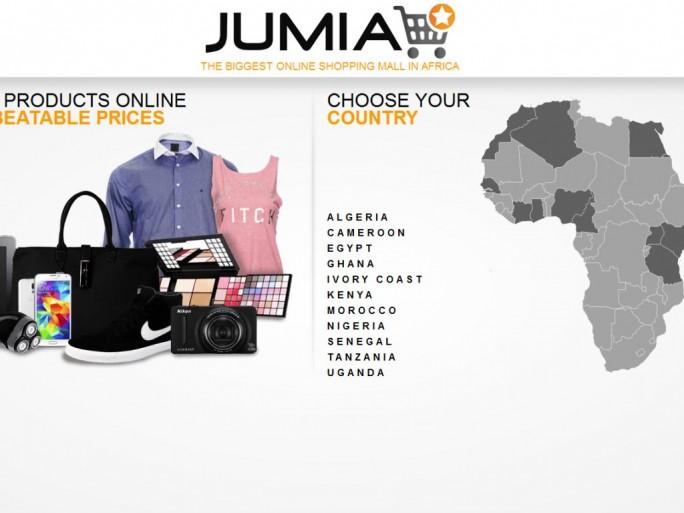 Jumia ist das bedeutendste Projekt der Africa Internet Group (AIG) und derzeit in elf Ländern aktiv (Screenshot: ITespresso).
