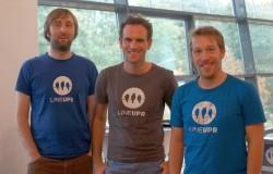 Die Gründer von LineUpr: Philipp Katz, Norbert Sroke und Eric Mischke (Bild: LineUpr)
