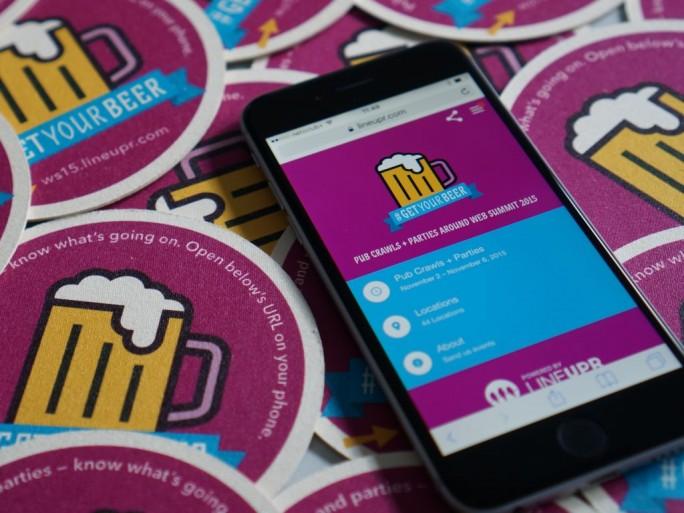 LineUpr Event-App Web Summit (Bild: LineUpr)