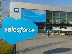 Salesforce belegt mit seiner Kundenvranstaltung dieses jahr gleich zwei Hallen auf der CeBIT (Bild: ITespresso).