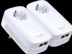 Die Powerline-Adapter TL-PA9020P KIT schicken Daten mit bis zu 2000 MBit/s über die Stromleitung (Bild: TP-Link).