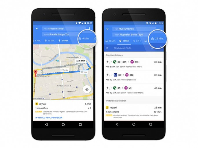 google-maps-mytaxi (Bild: Google)