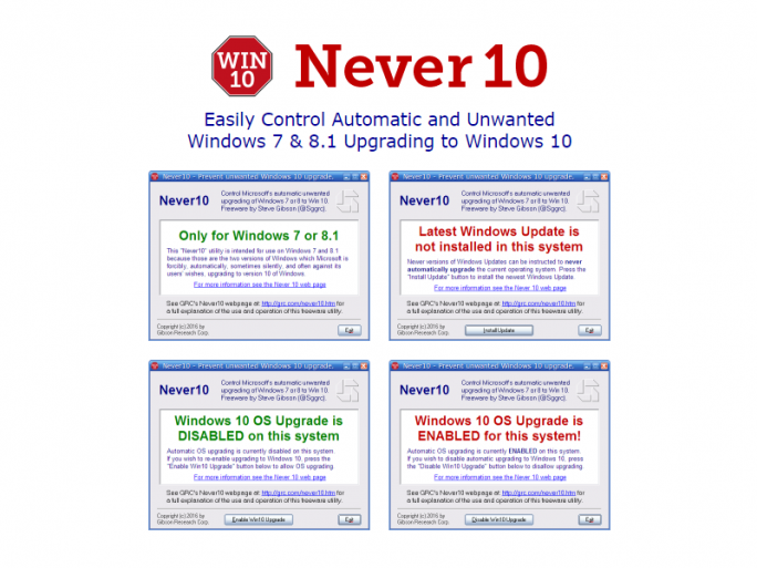 never10 (Screenshot: ZDNet.de)
