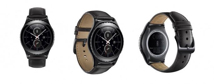 In Deutschland wird die Smartwatch Gear S2 Classic von Samsung das erste Mobilgerät sein, dass mit eSIM ausgeliefert wird. Vodafone beginnt damit am 11. März, O2 zieht im April nach (Bild: Samsung)