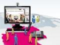 Telefon- und Webkonferenzen bei der Deutschen Telekom (Bild: Deutsche Telekom).